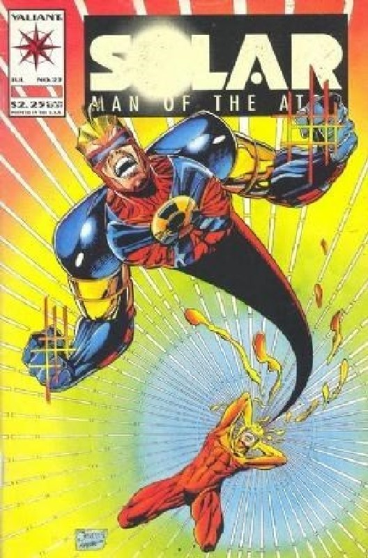 Cover of Solar Man of the Atom (Vol 1) #23. One of 250,000 Vintage American Comics on sale from Krypton!