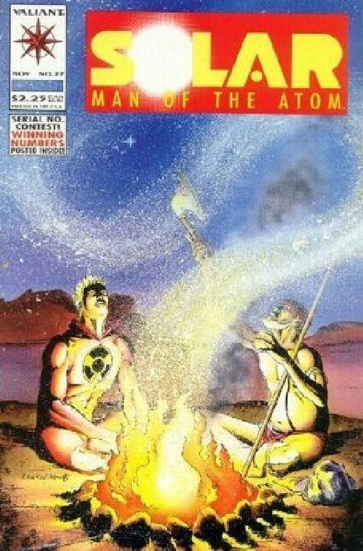 Cover of Solar Man of the Atom (Vol 1) #27. One of 250,000 Vintage American Comics on sale from Krypton!
