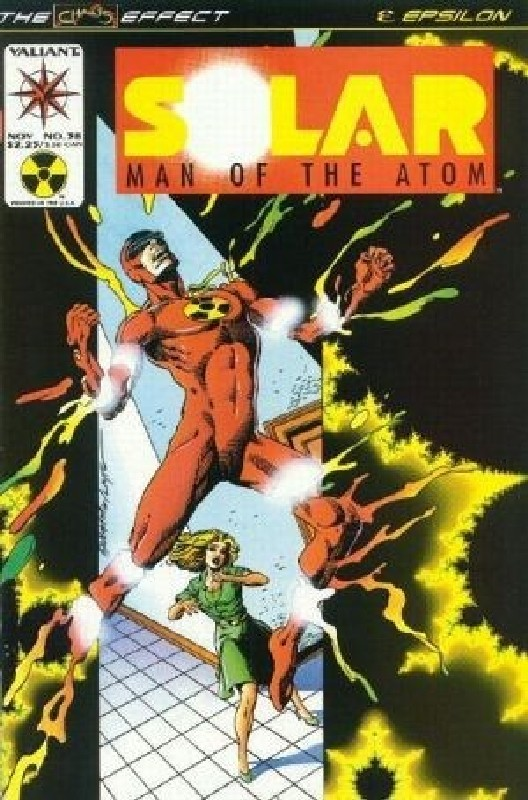 Cover of Solar Man of the Atom (Vol 1) #38. One of 250,000 Vintage American Comics on sale from Krypton!
