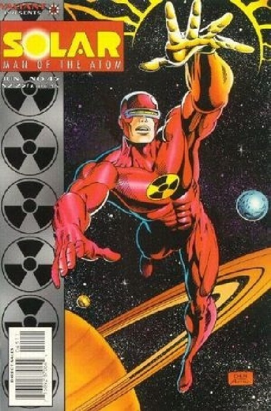 Cover of Solar Man of the Atom (Vol 1) #45. One of 250,000 Vintage American Comics on sale from Krypton!