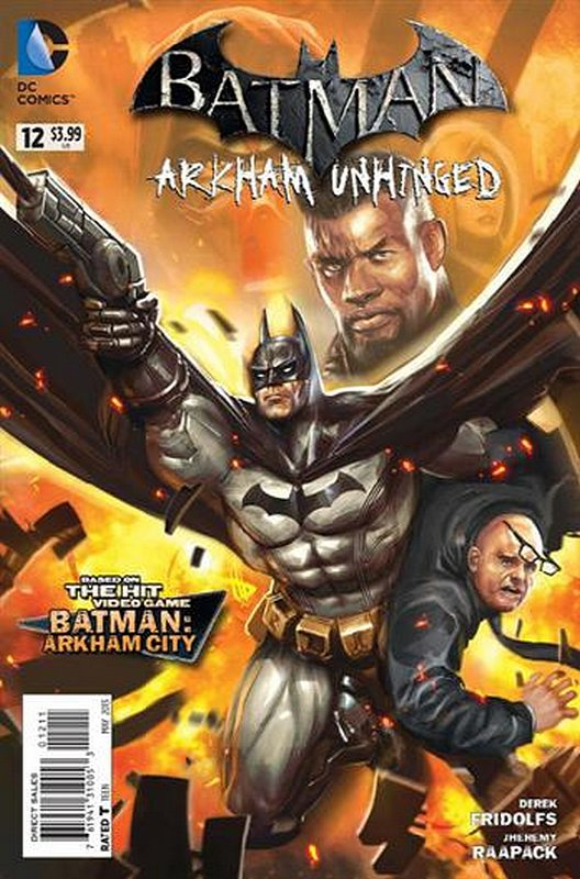 Cover of Batman: Arkham Unhinged (Vol 1) #12. One of 250,000 Vintage American Comics on sale from Krypton!