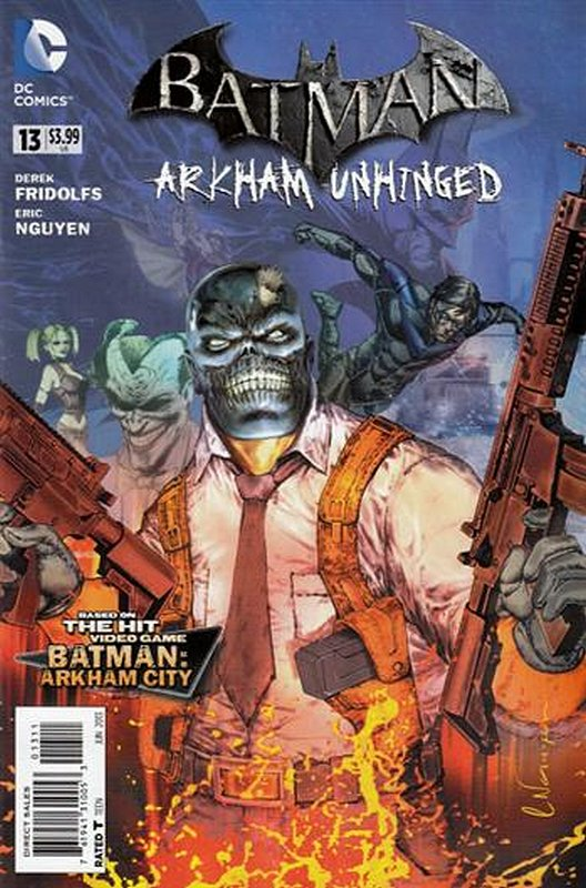 Cover of Batman: Arkham Unhinged (Vol 1) #13. One of 250,000 Vintage American Comics on sale from Krypton!