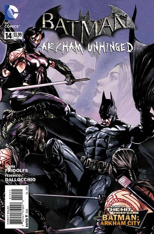 Cover of Batman: Arkham Unhinged (Vol 1) #14. One of 250,000 Vintage American Comics on sale from Krypton!