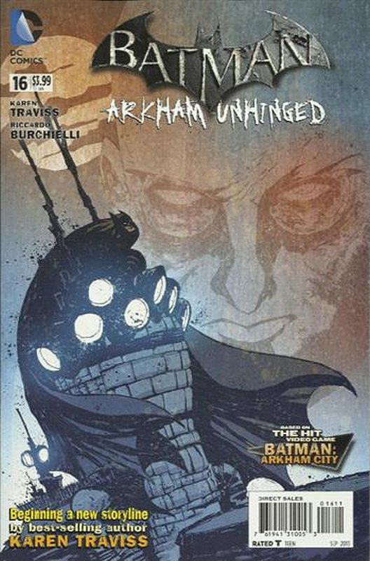 Cover of Batman: Arkham Unhinged (Vol 1) #16. One of 250,000 Vintage American Comics on sale from Krypton!