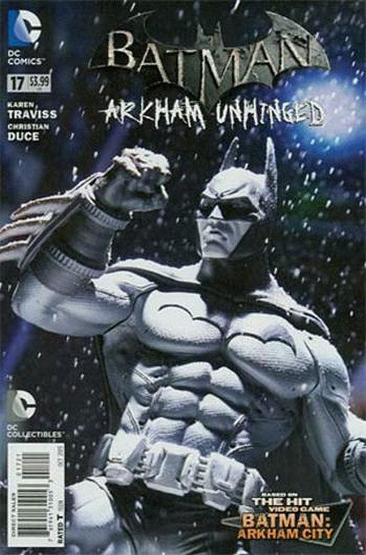 Cover of Batman: Arkham Unhinged (Vol 1) #17. One of 250,000 Vintage American Comics on sale from Krypton!
