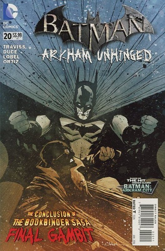 Cover of Batman: Arkham Unhinged (Vol 1) #20. One of 250,000 Vintage American Comics on sale from Krypton!