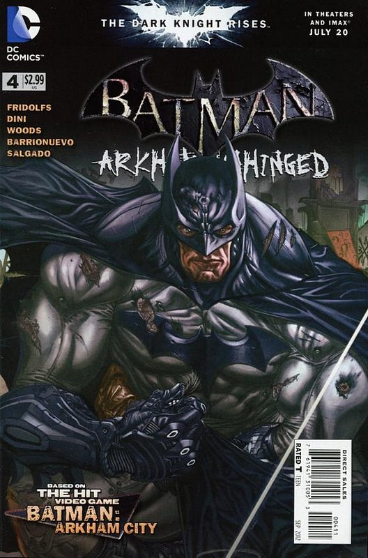 Cover of Batman: Arkham Unhinged (Vol 1) #4. One of 250,000 Vintage American Comics on sale from Krypton!