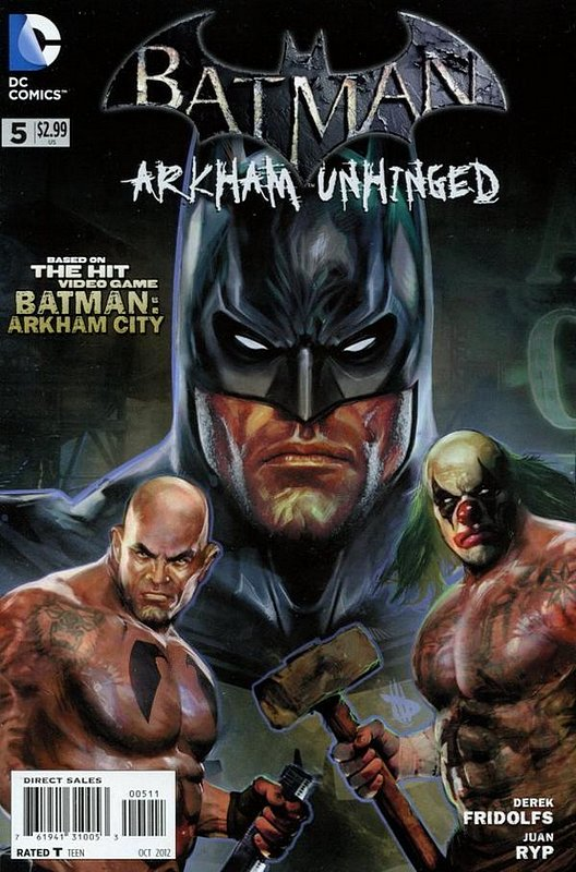 Cover of Batman: Arkham Unhinged (Vol 1) #5. One of 250,000 Vintage American Comics on sale from Krypton!