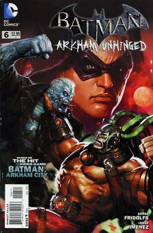 Cover of Batman: Arkham Unhinged (Vol 1) #6. One of 250,000 Vintage American Comics on sale from Krypton!