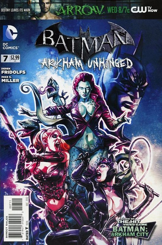 Cover of Batman: Arkham Unhinged (Vol 1) #7. One of 250,000 Vintage American Comics on sale from Krypton!