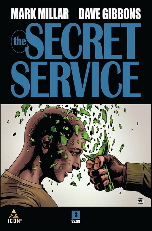Cover of Secret Service (2012 Ltd) #3. One of 250,000 Vintage American Comics on sale from Krypton!