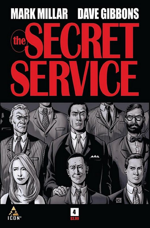 Cover of Secret Service (2012 Ltd) #4. One of 250,000 Vintage American Comics on sale from Krypton!