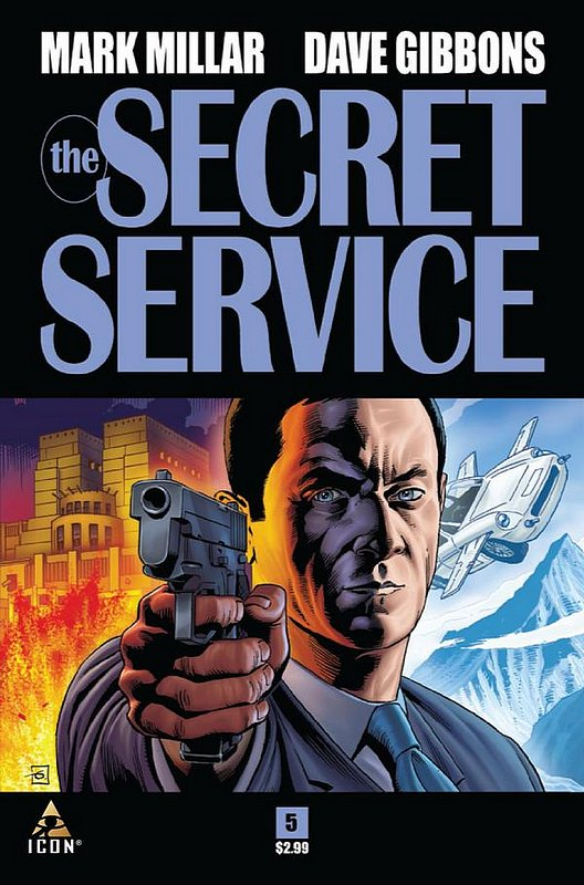 Cover of Secret Service (2012 Ltd) #5. One of 250,000 Vintage American Comics on sale from Krypton!