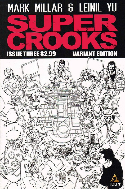 Cover of Supercrooks (2012 Ltd) #3. One of 250,000 Vintage American Comics on sale from Krypton!
