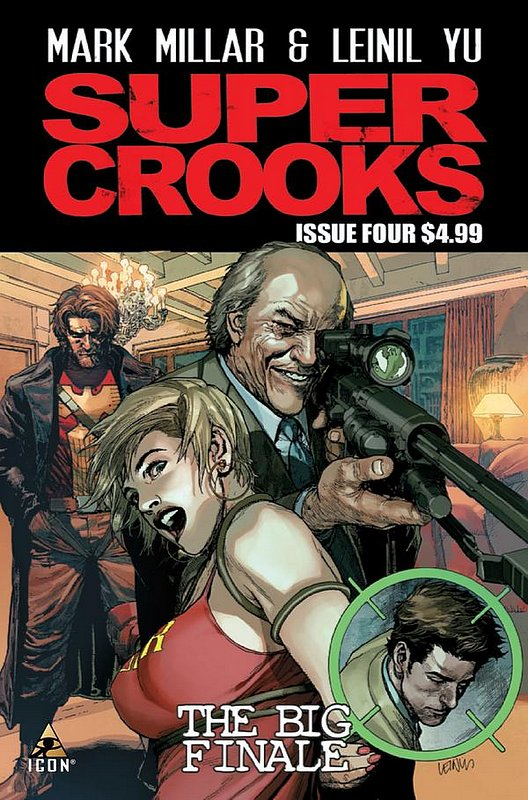 Cover of Supercrooks (2012 Ltd) #4. One of 250,000 Vintage American Comics on sale from Krypton!
