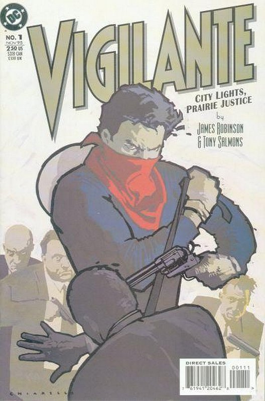 Cover of Vigilante: City lights, Prairie Justice (1996 Ltd) #1. One of 250,000 Vintage American Comics on sale from Krypton!