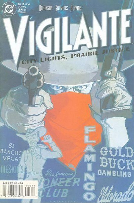 Cover of Vigilante: City lights, Prairie Justice (1996 Ltd) #3. One of 250,000 Vintage American Comics on sale from Krypton!