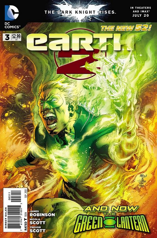 Cover of Earth Two (Vol 1) #3. One of 250,000 Vintage American Comics on sale from Krypton!