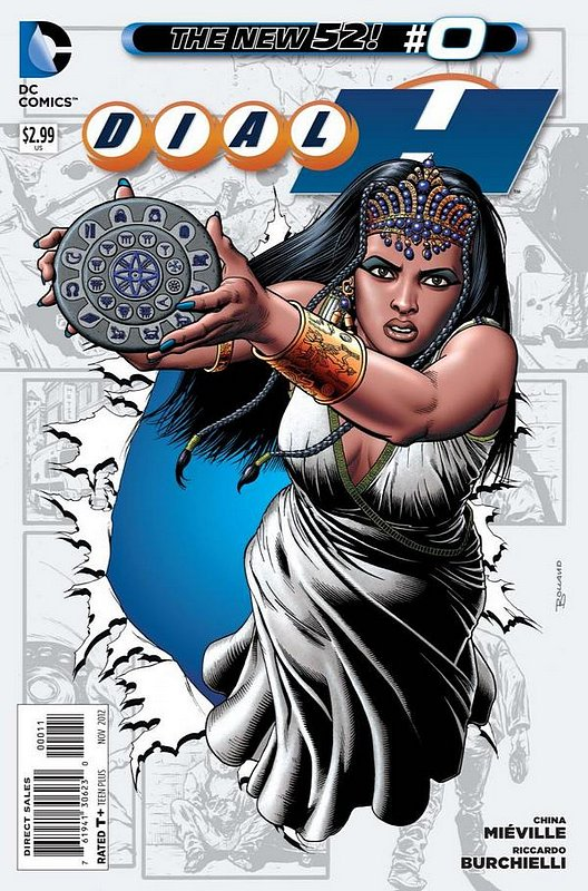 Cover of Dial H (Vol 1) #0. One of 250,000 Vintage American Comics on sale from Krypton!