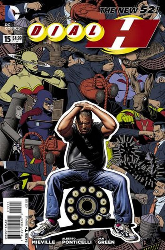 Cover of Dial H (Vol 1) #15. One of 250,000 Vintage American Comics on sale from Krypton!