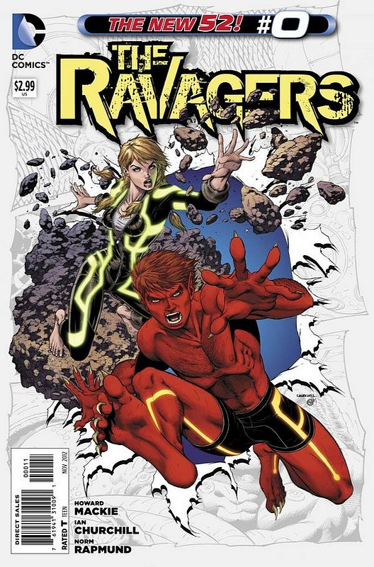Cover of Ravagers (Vol 1) ,The #0. One of 250,000 Vintage American Comics on sale from Krypton!