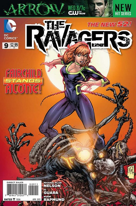 Cover of Ravagers (Vol 1) ,The #9. One of 250,000 Vintage American Comics on sale from Krypton!