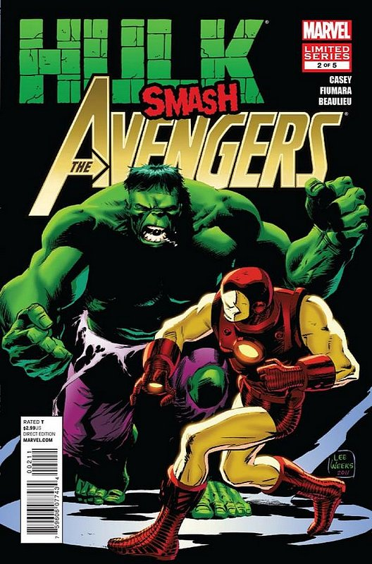 Cover of Hulk Smash Avengers (2012 Ltd) #2. One of 250,000 Vintage American Comics on sale from Krypton!