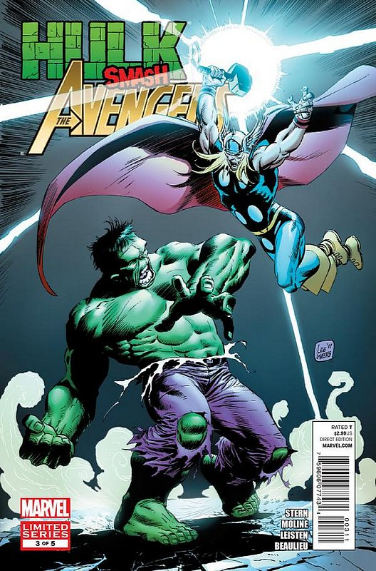 Cover of Hulk Smash Avengers (2012 Ltd) #3. One of 250,000 Vintage American Comics on sale from Krypton!