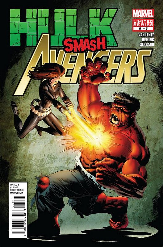Cover of Hulk Smash Avengers (2012 Ltd) #5. One of 250,000 Vintage American Comics on sale from Krypton!