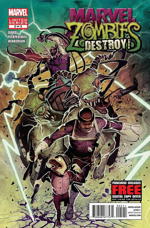 Cover of Marvel Zombies: Destroy (2012 Ltd) #5. One of 250,000 Vintage American Comics on sale from Krypton!