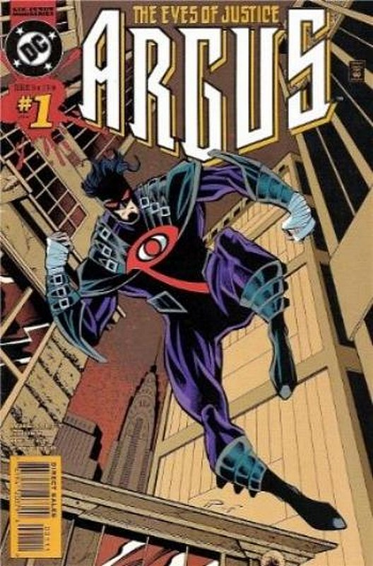 Cover of Argus (1995 Ltd) #1. One of 250,000 Vintage American Comics on sale from Krypton!