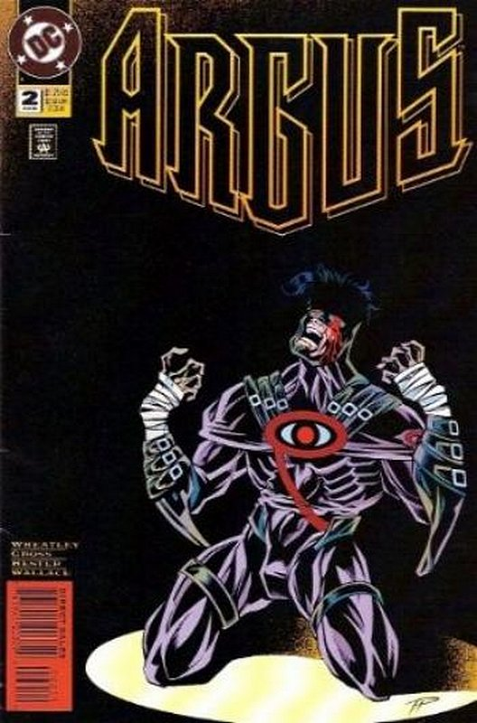 Cover of Argus (1995 Ltd) #2. One of 250,000 Vintage American Comics on sale from Krypton!