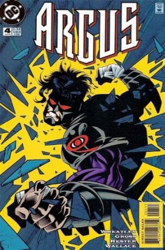 Cover of Argus (1995 Ltd) #4. One of 250,000 Vintage American Comics on sale from Krypton!