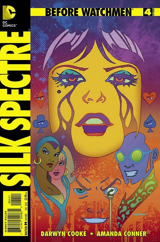 Cover of Before Watchmen: Silk Spectre (2012 Ltd) #4. One of 250,000 Vintage American Comics on sale from Krypton!