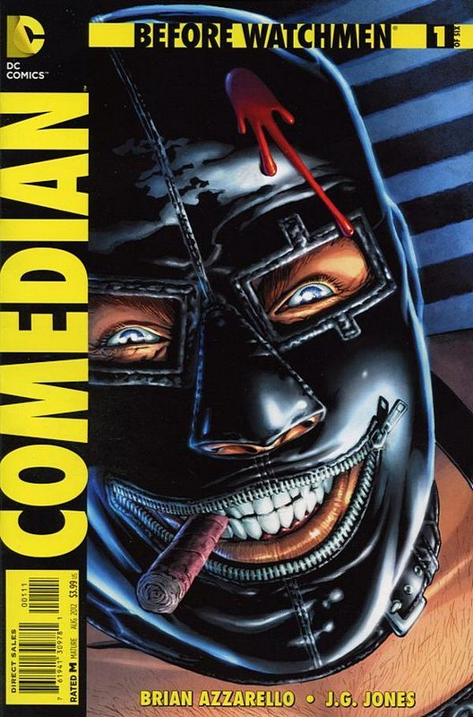 Cover of Before Watchmen: Comedian (2012 Ltd) #1. One of 250,000 Vintage American Comics on sale from Krypton!