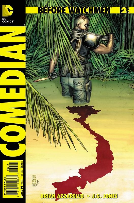 Cover of Before Watchmen: Comedian (2012 Ltd) #2. One of 250,000 Vintage American Comics on sale from Krypton!