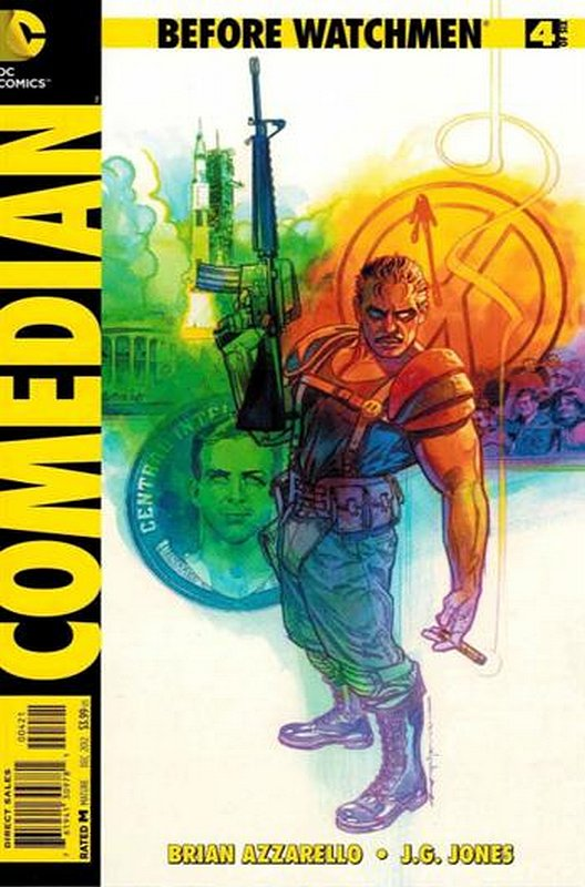 Cover of Before Watchmen: Comedian (2012 Ltd) #4. One of 250,000 Vintage American Comics on sale from Krypton!