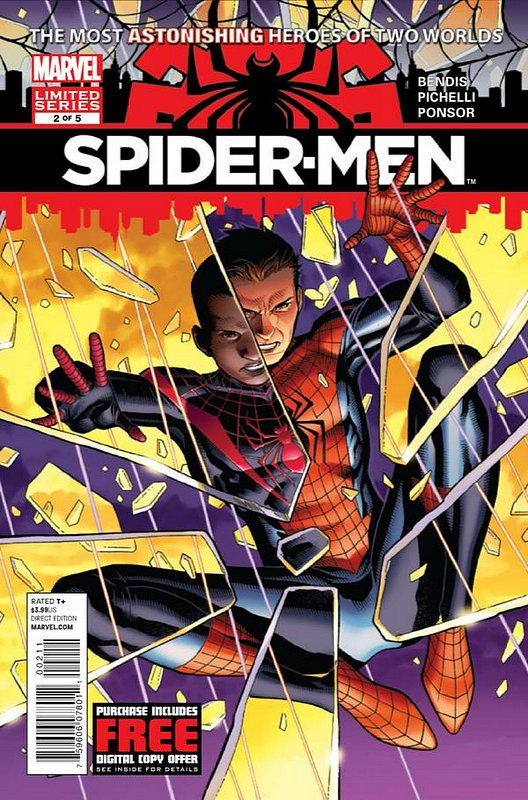 Cover of Spider-Men (2012 Ltd) #2. One of 250,000 Vintage American Comics on sale from Krypton!