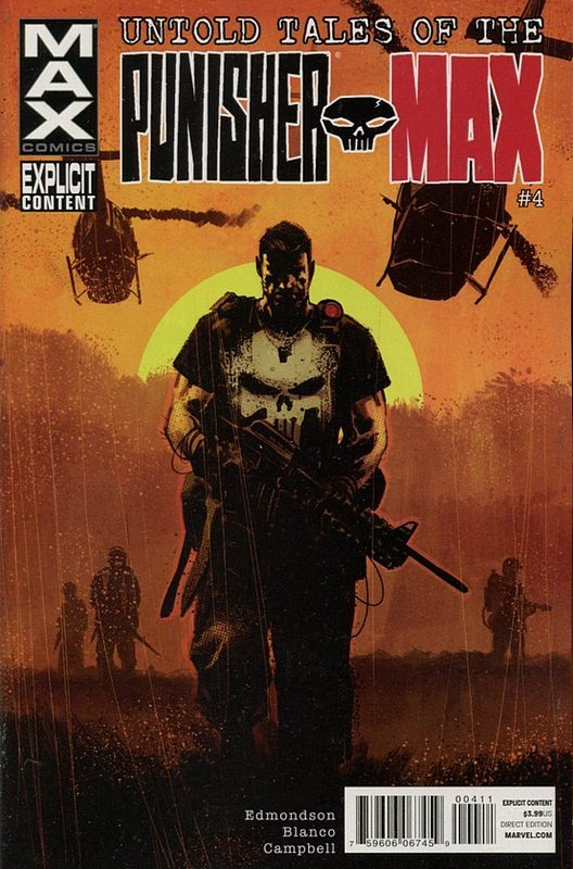 Cover of Untold Tales of Punisher Max (2012 Ltd) #4. One of 250,000 Vintage American Comics on sale from Krypton!