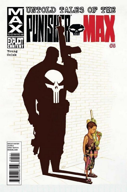 Cover of Untold Tales of Punisher Max (2012 Ltd) #5. One of 250,000 Vintage American Comics on sale from Krypton!