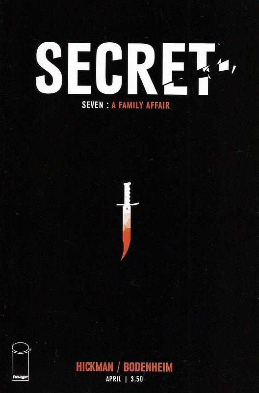 Cover of Secret (Vol 1) (Image) #7. One of 250,000 Vintage American Comics on sale from Krypton!