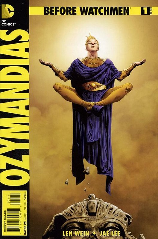 Cover of Before Watchmen: Ozymandias (2012 Ltd) #1. One of 250,000 Vintage American Comics on sale from Krypton!