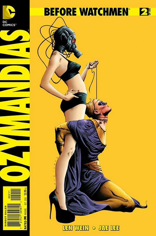 Cover of Before Watchmen: Ozymandias (2012 Ltd) #2. One of 250,000 Vintage American Comics on sale from Krypton!