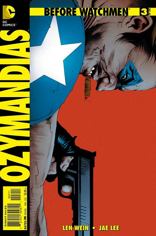 Cover of Before Watchmen: Ozymandias (2012 Ltd) #3. One of 250,000 Vintage American Comics on sale from Krypton!