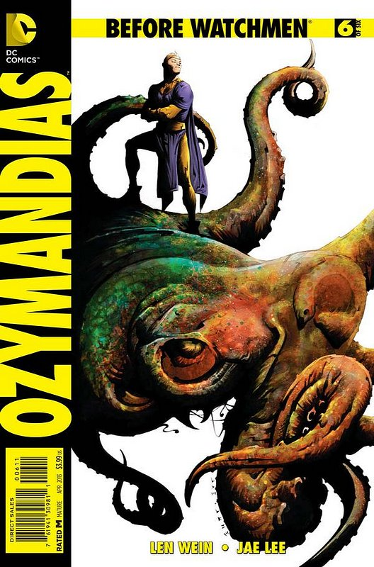 Cover of Before Watchmen: Ozymandias (2012 Ltd) #6. One of 250,000 Vintage American Comics on sale from Krypton!