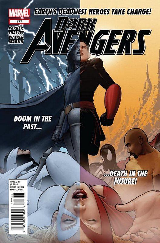 Cover of Dark Avengers (Vol 2) #177. One of 250,000 Vintage American Comics on sale from Krypton!