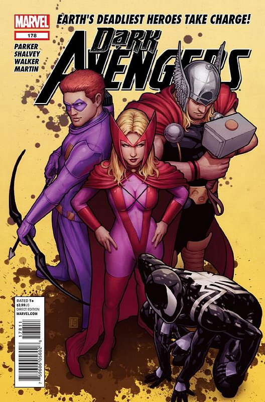 Cover of Dark Avengers (Vol 2) #178. One of 250,000 Vintage American Comics on sale from Krypton!