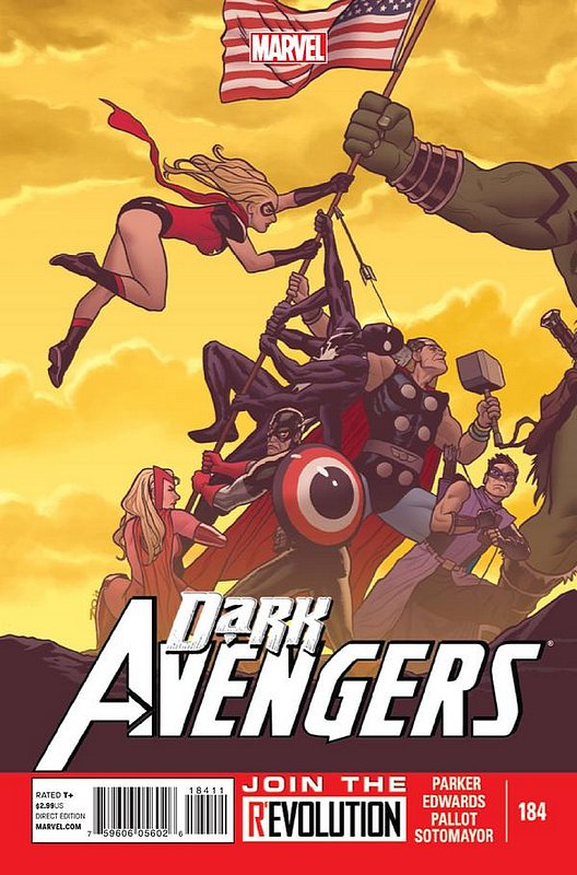 Cover of Dark Avengers (Vol 2) #184. One of 250,000 Vintage American Comics on sale from Krypton!
