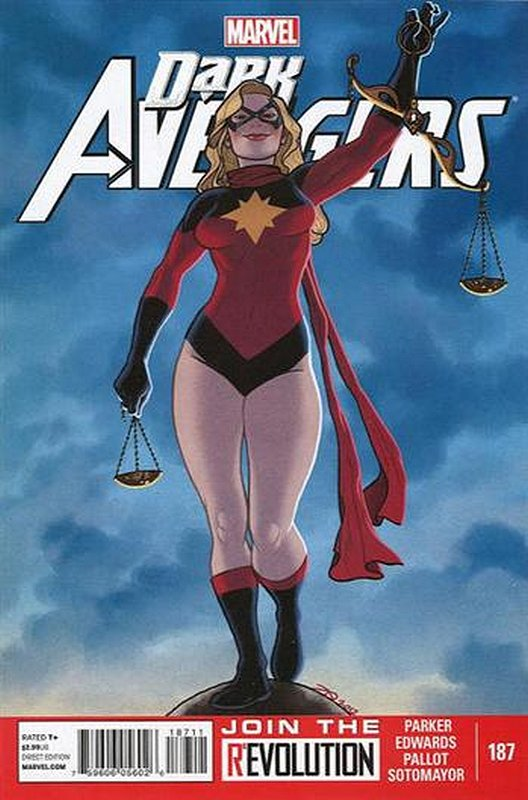 Cover of Dark Avengers (Vol 2) #187. One of 250,000 Vintage American Comics on sale from Krypton!