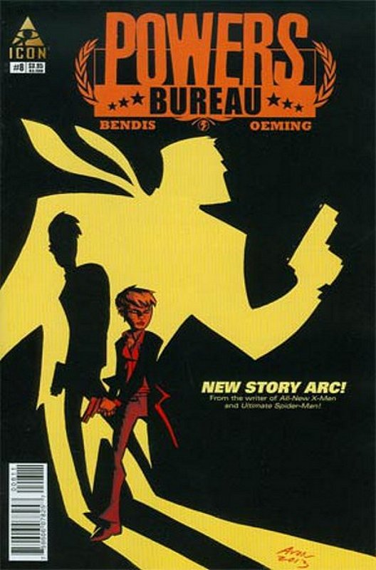 Cover of Powers Bureau (Vol 1) #8. One of 250,000 Vintage American Comics on sale from Krypton!